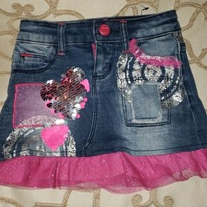 Desigual trendy skirt from Italy 4t